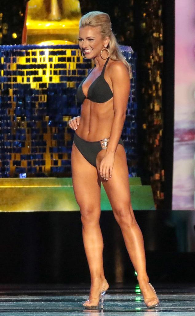 Miss America 2018, Swimsuit Challenge, Miss New Jersey Kaitlyn Schoeffel