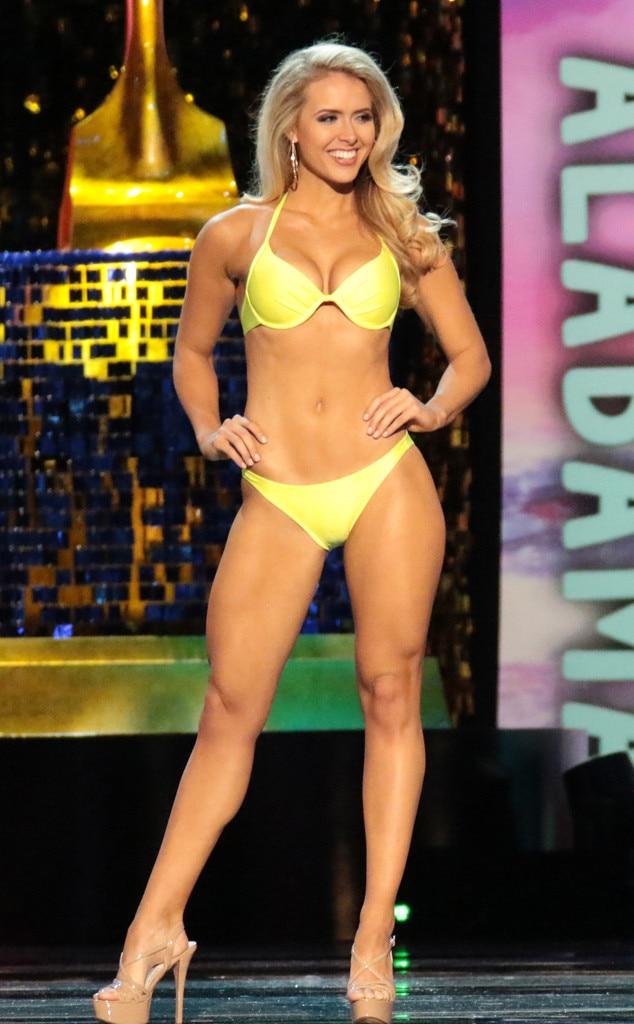 Miss America 2018, Swimsuit Challenge, Miss Alabamba Jessica Procter