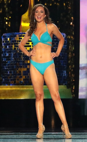 Miss America 2018, Swimsuit Challenge, Miss Alaska Angelina Klapperich