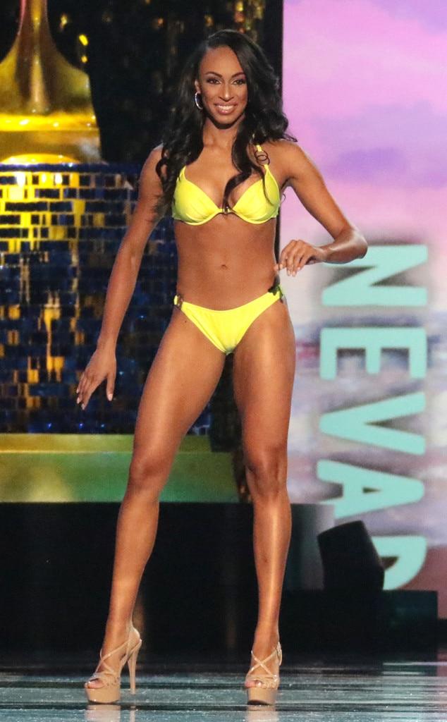 Miss America 2018, Swimsuit Challenge, Miss Nevada Andrea Martinez