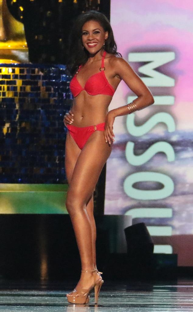 Miss America 2018, Swimsuit Challenge, Miss Missouri Jennifer Davis