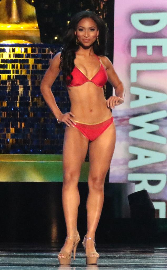 Miss America 2018, Swimsuit Challenge, Miss Delaware Chelsea Bruce