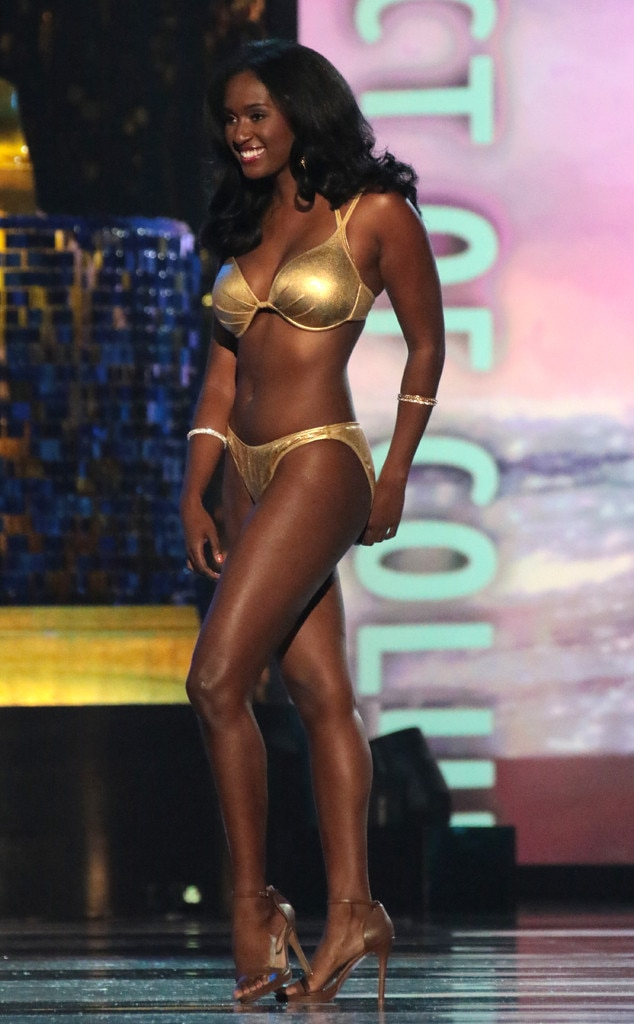 Miss America 2018, Swimsuit Challenge, Miss District of Columbia Briana Kinsey