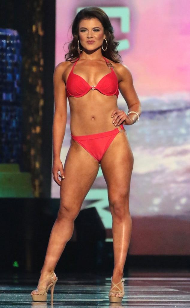 Miss America 2018, Swimsuit Challenge, Miss New Hampshire Lauren Percy