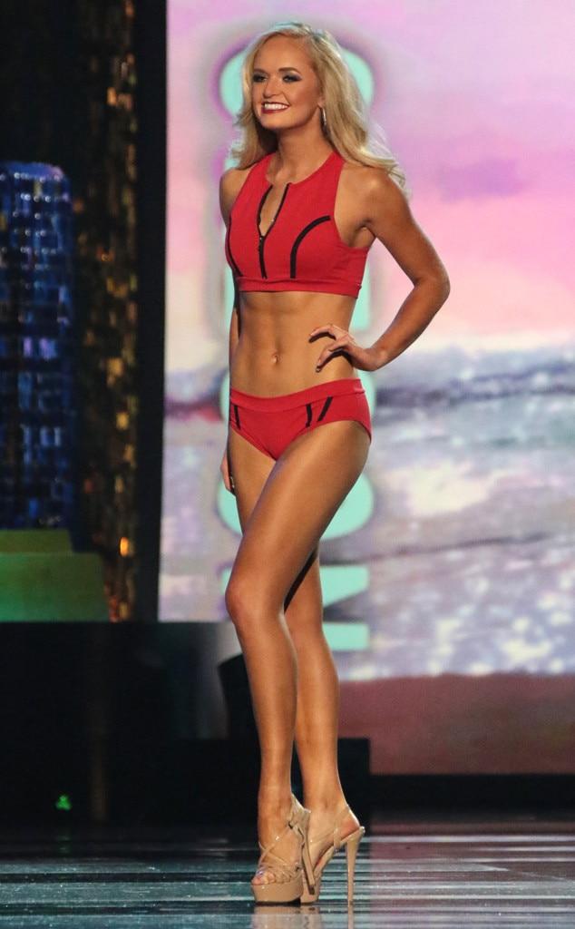 Miss America 2018, Swimsuit Challenge, Miss Oregon Harley Emery