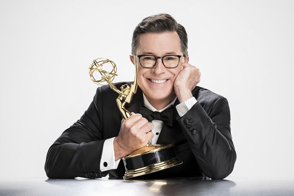 Stephen Colbert, 2017 Emmys
