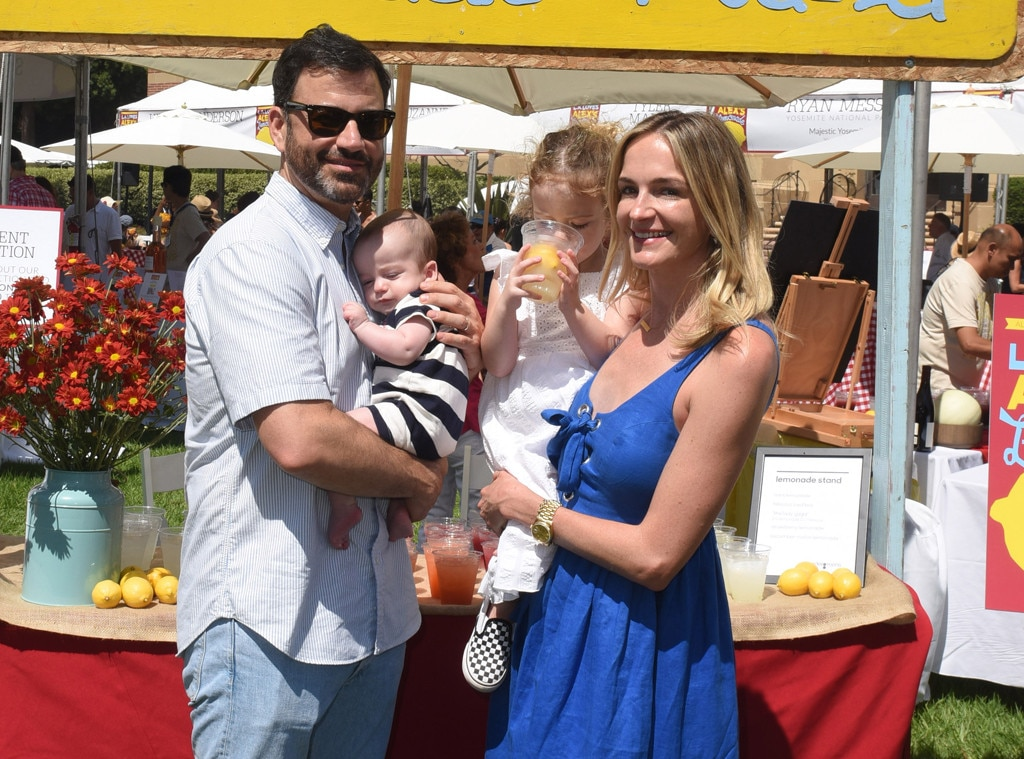 Jimmy Kimmel, Molly McNearney, Jane Kimmel and William Kimmel