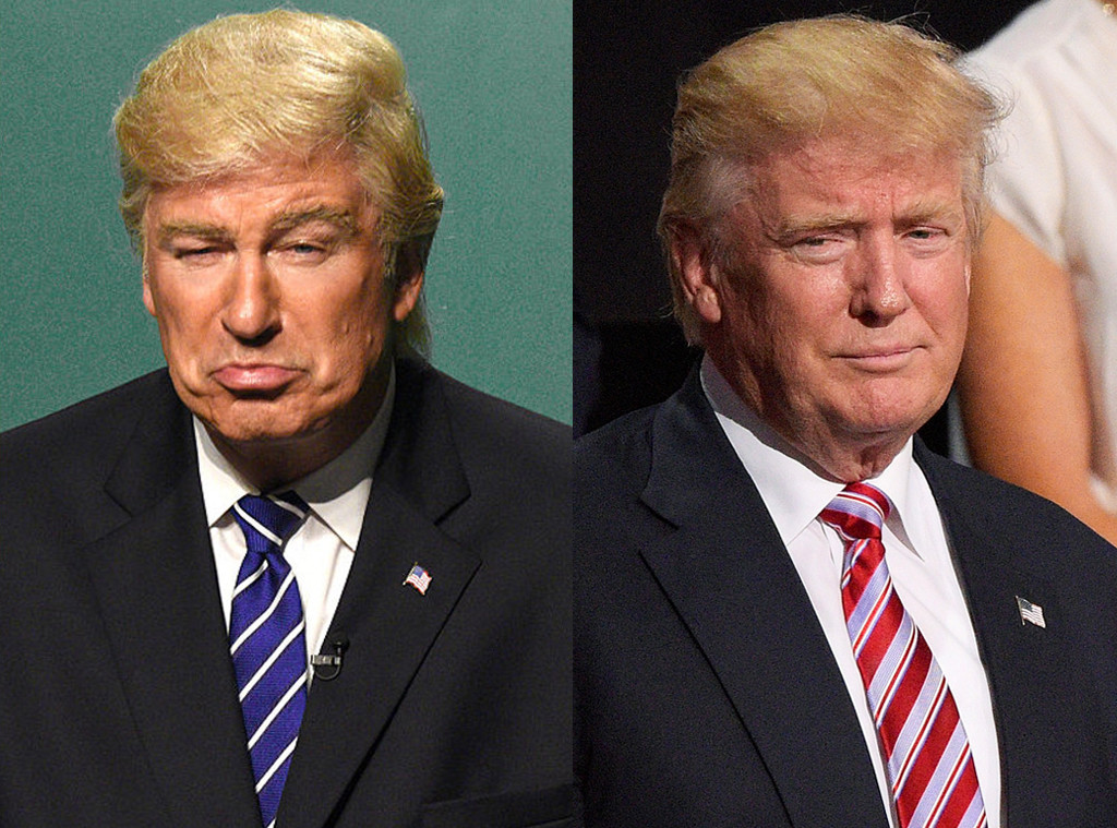 Donald Trump, Alec Baldwin, Saturday Night Live, SNL