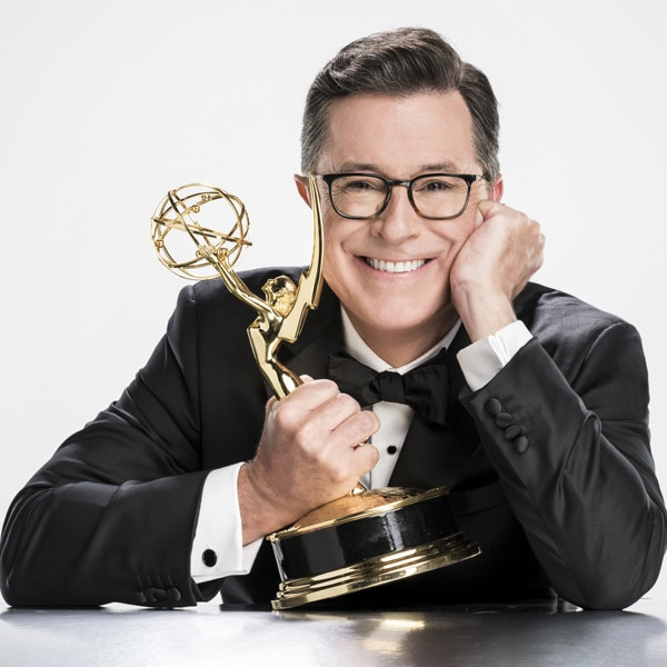 Jimmy Kimmel offers Stephen Colbert advice for hosting the Emmys