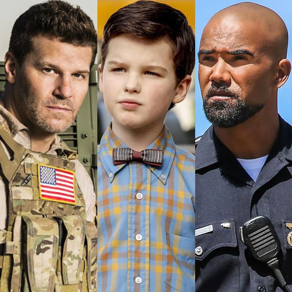 CBS Split, Shemar Moore, SWAT, Iain Armitage, Young Sheldon, David Boreanaz, Seal Team