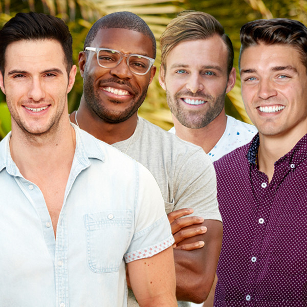 Daniel Maguire, Diggy Moreland, Robby Hayes & Dean Unglert, Bachelor in Paradise