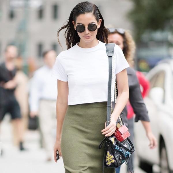 ESC: Celeb Street Style, NYFW, Lily Aldridge