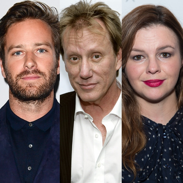 Armie Hammer, Amber Tamblyn, James Woods