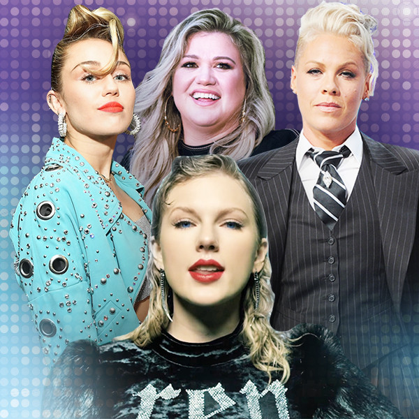 Miley Cyrus, Kelly Clarkson, Pink, Taylor Swift, Pop Divas Reinvention
