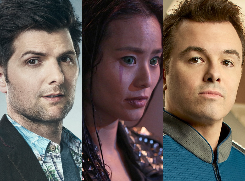 Ghosted, The Gifted, The Orville