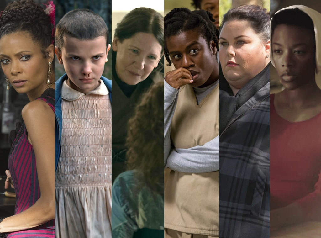 Emmys Predictions, Uzo Aduba, Millie Bobby Brown, Ann Dowd, Samira Wiley, Chrissy Metz, Thandie Newton