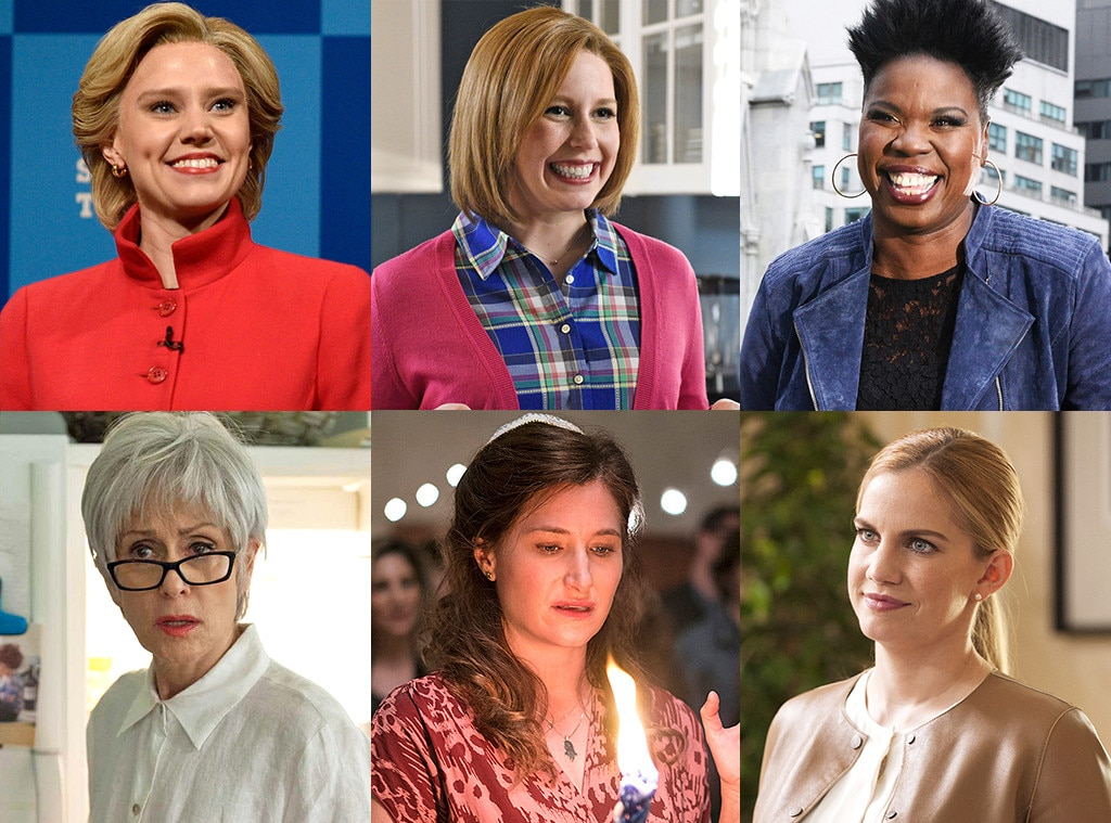 Emmys Predictions, Supporting Actress in a Comedy, Kate McKinnon, Vanessa Bayer, Leslie Jones, Judith Light, Kathryn Hahn, Anna Chlumsk