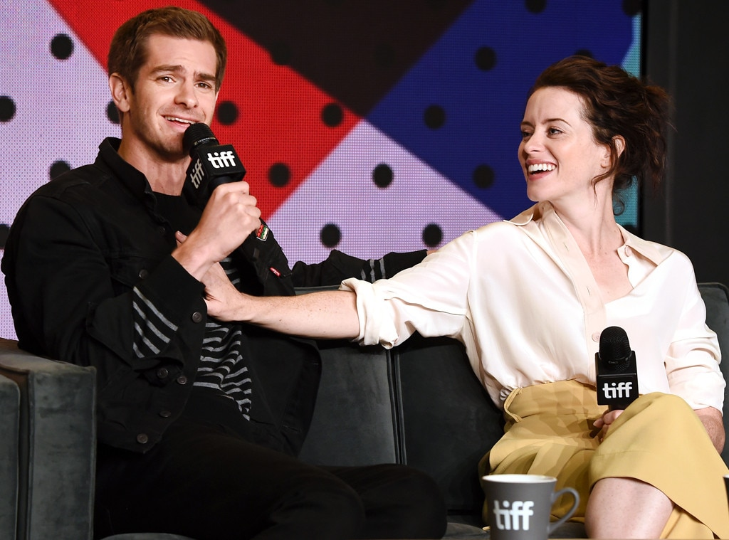 Andrew Garfield, Claire Foy, 2017 Toronto International Film Festival