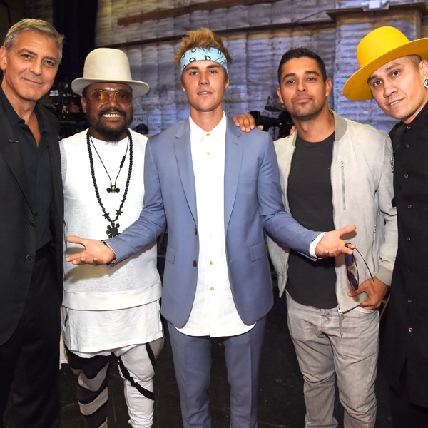 George Clooney, will.i.am, Justin Bieber, Wilmer Valderrama and Taboo, Hand in Hand: A Benefit for Hurricane Relief