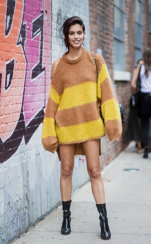 New York Fashion Week Spring 2018 Best Celeb Street Style Looks E News