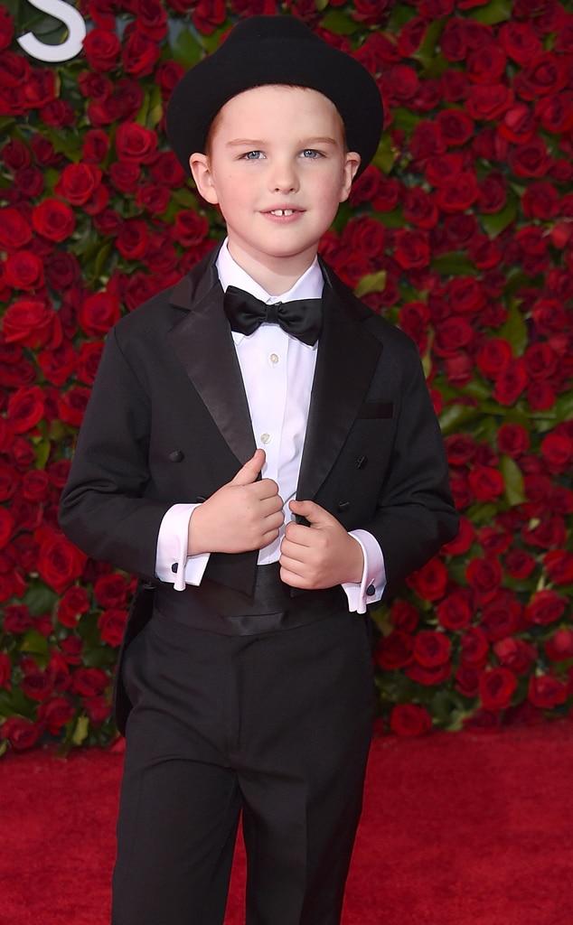 Emmys Presenters, Iain Armitage