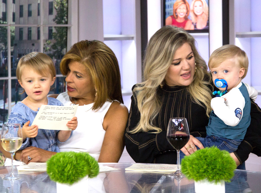 River Rose Blackstock, Hoda Kotb, Kelly Clarkson, Remy Blackstock, Today