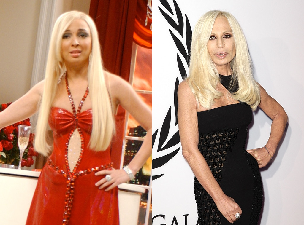 Maya Rudolph As Donatella Versace From How It Feels To Be
