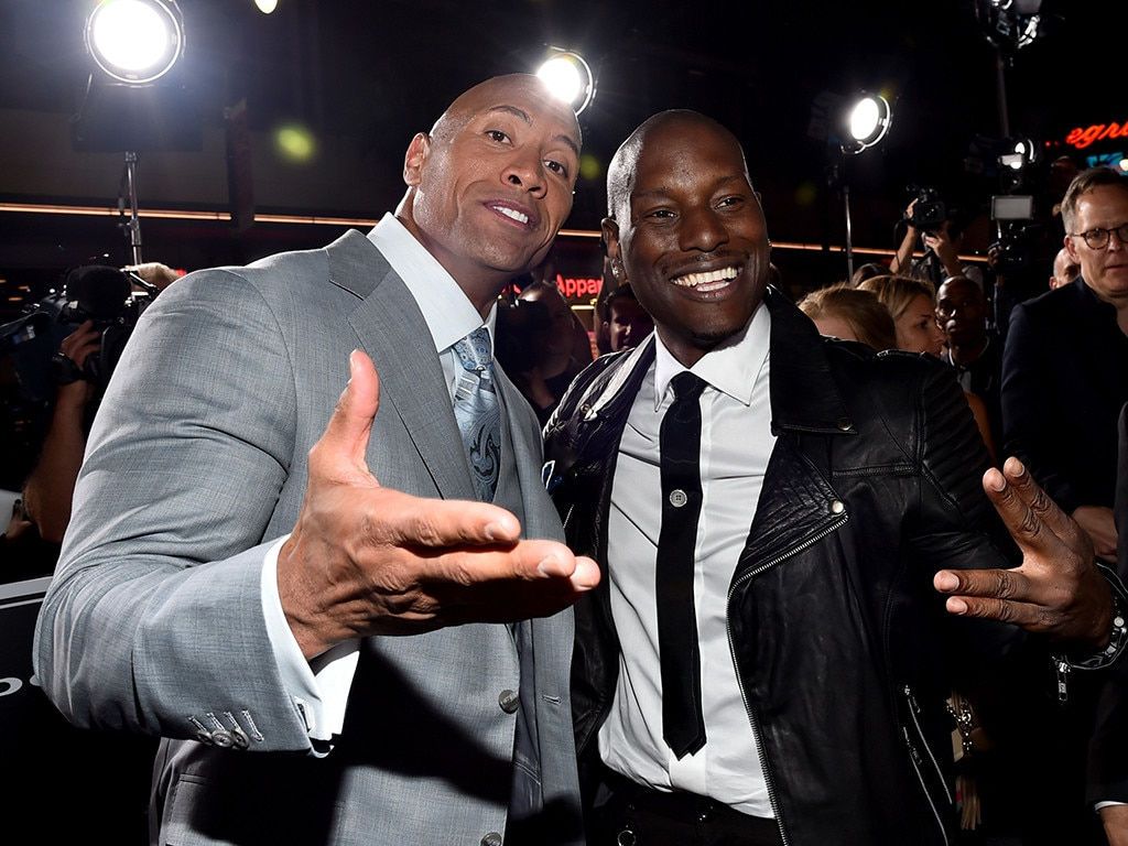 The Rock, Tyrese