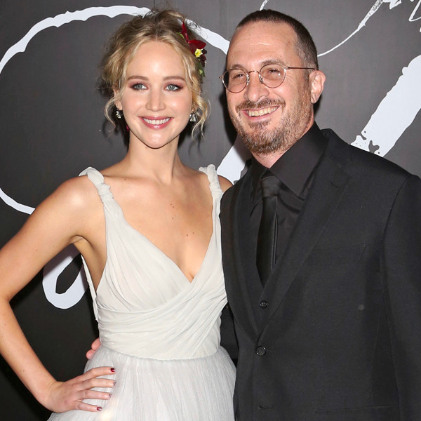 Jennifer Lawrence & Darren Aronofsky, 'Mother' NYC Premiere
