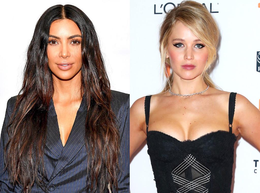 Kim Kardashian, Jennifer Lawrence