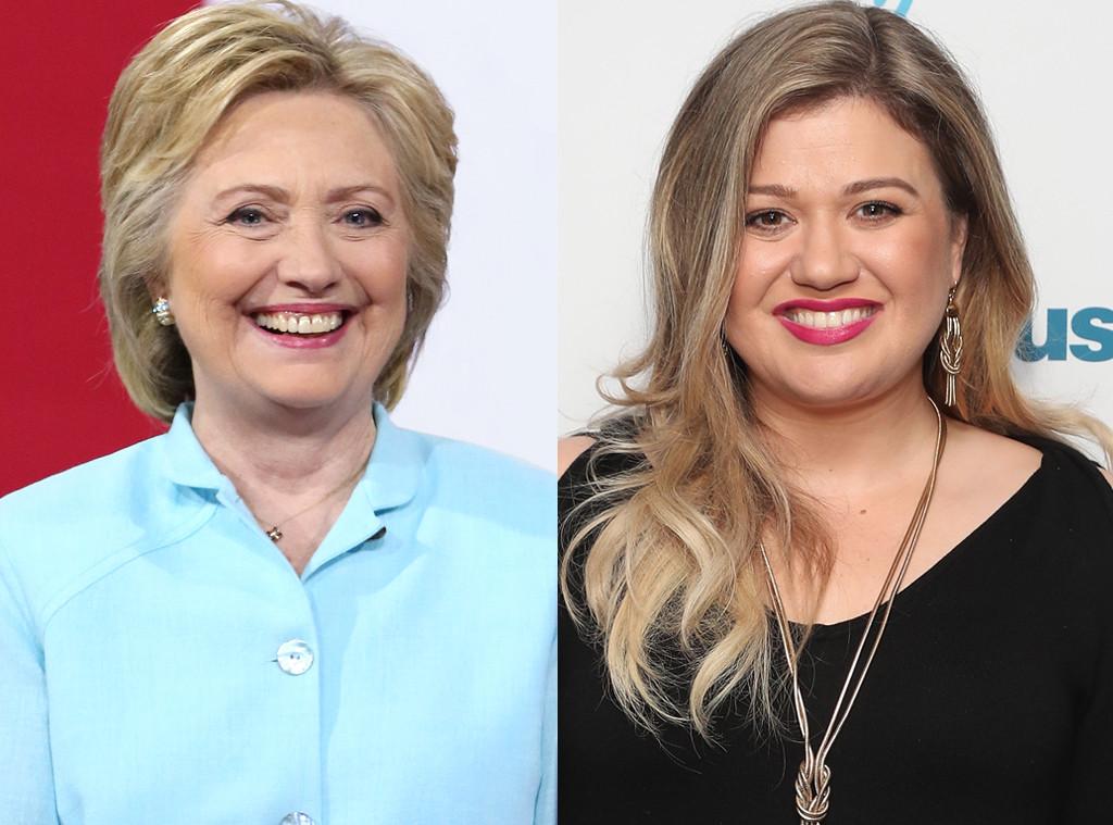 Hillary Clinton, Kelly Clarkson