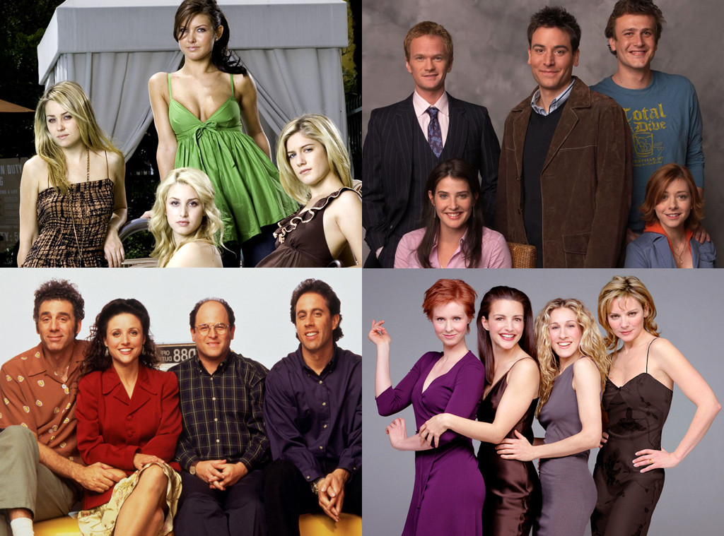 The Hills, How I Met You Mother, Seinfeld, Sex and the City