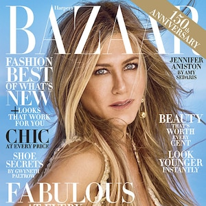 Jennifer Aniston, Harper's Bazaar, October 2017
