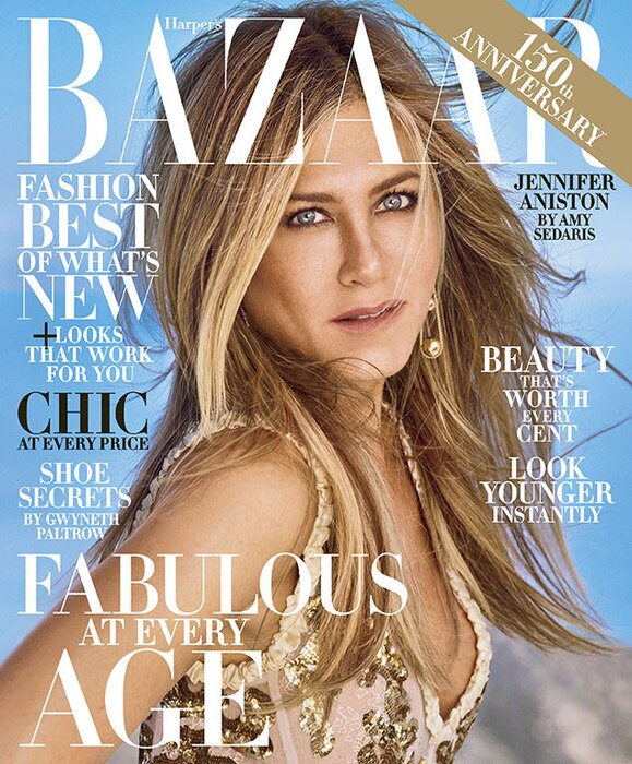 Jennifer Aniston, Harper's Bazaar, October 2017