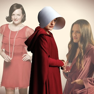 Elisabeth Moss, TV Roles, West Wing, Mad Men, Top of the Lake, The Handmaid's Tale