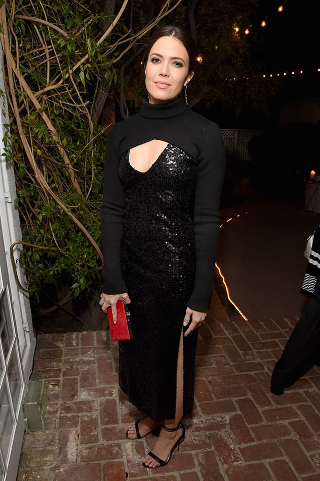 Mandy Moore, Pre-Emmys Party, Gersh