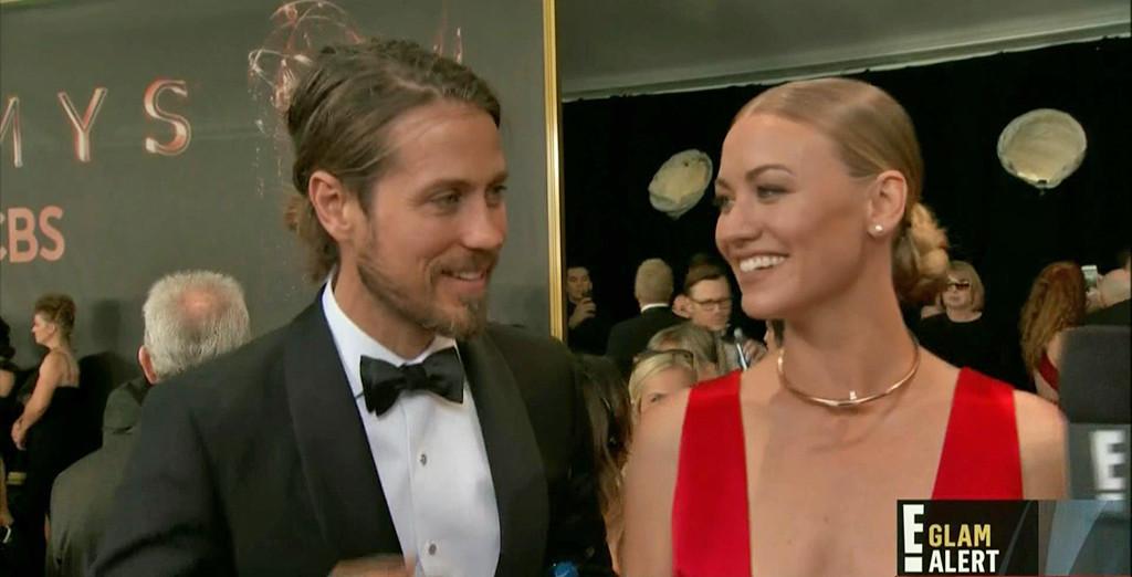 Yvonne Strahovski, Tim Loden, Emmys 2017