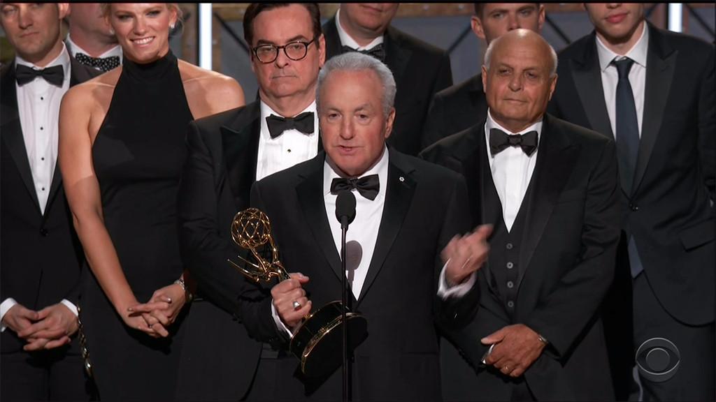 Lindsay Shookus, 2017 Emmys, Stage, SNL, Lorne Michaels