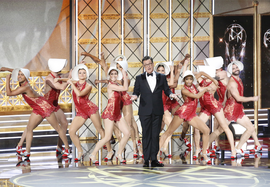 Stephen Colbert, 2017 Emmy Awards