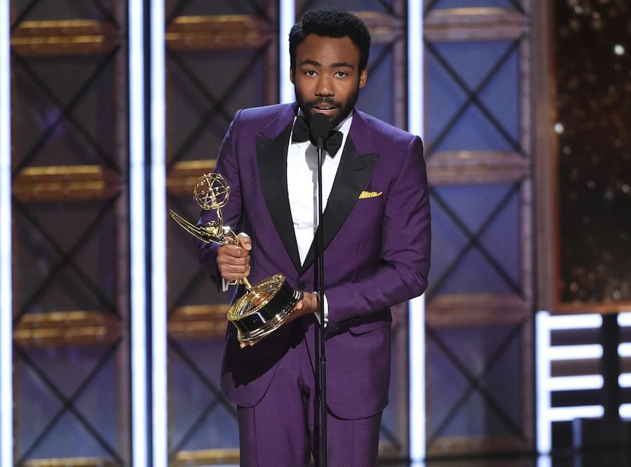 Donald Glover, 2017 Emmy Awards, Winners