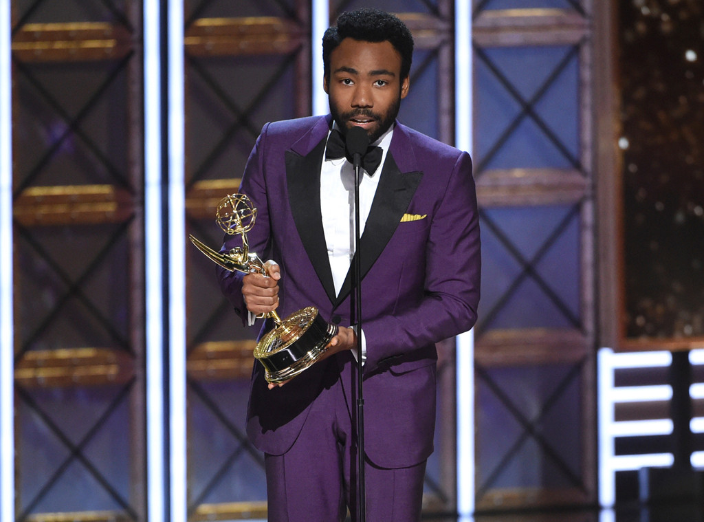 Donald Glover, 2017 Emmy Awards, Winners