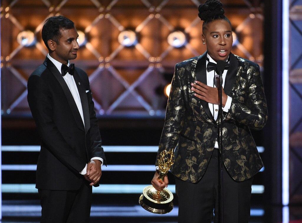 Aziz Ansari, Lena Waithe, 2017 Emmy Awards, Winners