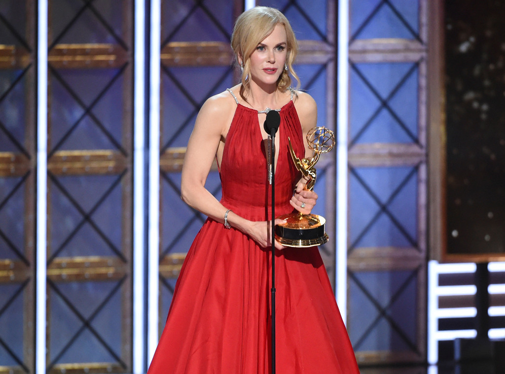 Nicole Kidman, 2017 Emmy Awards, Winners