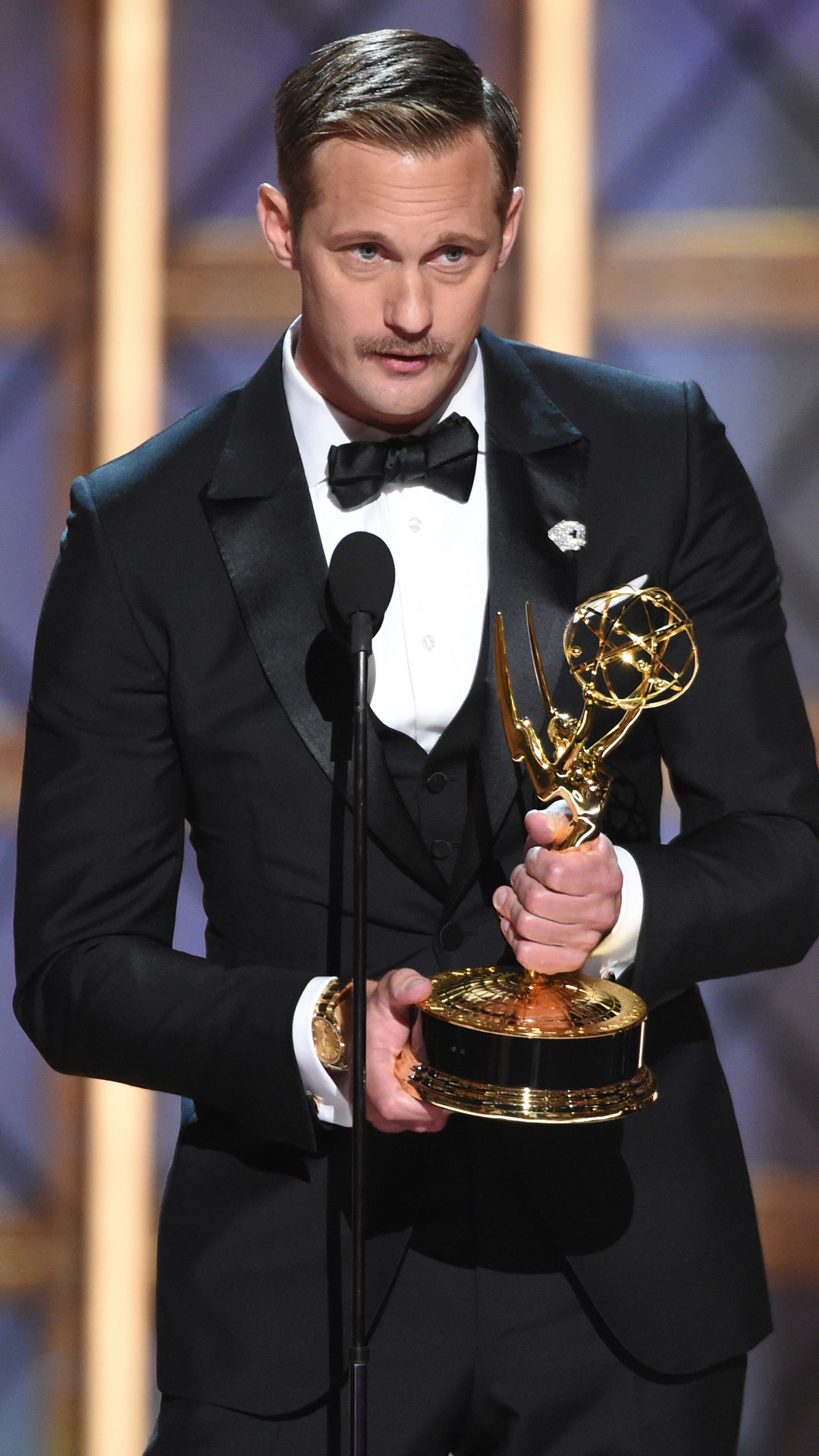 Alexander Skarsgard, 2017 Emmy Awards, Winners