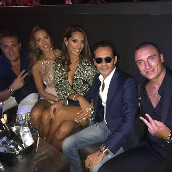Marc Anthony, Jennifer Lopez, Raffaella Modugno