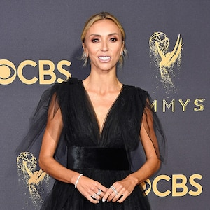 Giuliana Rancic, 2017 Emmy Awards, Arrivals