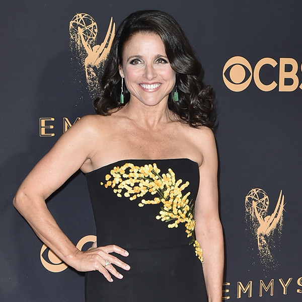 Julia Louis-Dreyfus, 2017 Emmy Awards, Arrivals