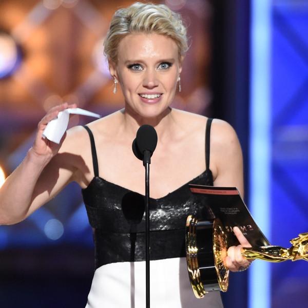 Kate McKinnon, 2017 Emmy Awards, Winners