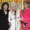 <i>9 to 5</i> Stars Jane Fonda, Lily Tomlin & Dolly Parton Reunited at the 2017 Emmys to the Delight of Audiences Everywhere