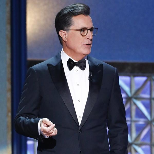Stephen Colbert, 2017 Emmy Awards, Show